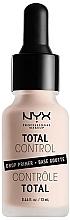 Fragrances, Perfumes, Cosmetics Face Primer - NYX Professional Makeup Professional Total Control Drop Primer
