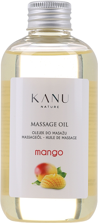 """Massage Oil """"Mango"""" - Kanu Nature Mango Massage Oil"""
