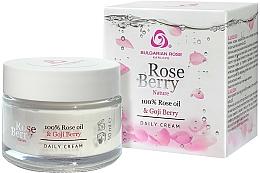 Fragrances, Perfumes, Cosmetics Day Face Cream - Bulgarian Rose Rose Berry Nature Day Cream