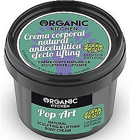 "Modeling Body Cream ""Pop-Art"" - Organic Shop Organic Kitchen Pop Art Cream"