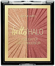 Fragrances, Perfumes, Cosmetics Duo Blush-Highlighter - Wet N Wild MegaGlo Blushlighter