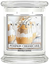 Fragrances, Perfumes, Cosmetics Scented Candle in Jar - Kringle Candle Pumpkin Cheesecake