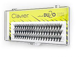 """Fragrances, Perfumes, Cosmetics False Eyelashes """"Double Volume"""", 13 mm - Clavier DU2O Double Volume"""