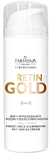 Fragrances, Perfumes, Cosmetics Smoothing & Illuminating Face Cream - Farmona Retin Gold Smoothing & Illuminating Anti-Ageing Cream