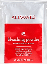 Fragrances, Perfumes, Cosmetics Lightening Hair Powder - Allwaves Powder Bleach