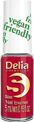 Nail Polish - Delia Cosmetics S-Size Vegan Friendly Nail Enamel