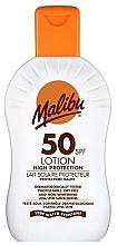 Fragrances, Perfumes, Cosmetics Sun Lotion for Body - Malibu Sun Lotion High Protection SPF50