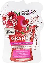 "Fragrances, Perfumes, Cosmetics Facial Mask ""Pomegranate"" - Marion Fit & Fresh Pomegranate Face Mask"