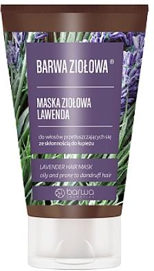 Lavender Hair Mask - Barwa Lawender Herb Mask