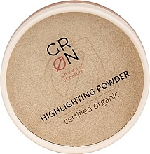 Fragrances, Perfumes, Cosmetics Highlighting Powder - GRN Highlighting Powder