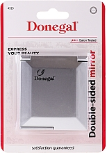 """Fragrances, Perfumes, Cosmetics Compact Mirror """"S-Attra"""", Double-Sided, in Metal Frame - Donegal Mirror"""