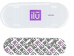 Fragrances, Perfumes, Cosmetics Nail File, in case - Ilu Nail File With Case Mini 240/240