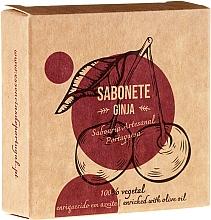 "Fragrances, Perfumes, Cosmetics Natural Soap ""Ginja"" - Essencias De Portugal Senses Ginja Soap With Olive Oil"