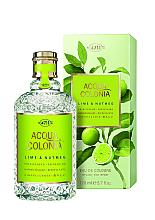 Fragrances, Perfumes, Cosmetics Maurer & Wirtz 4711 Aqua Colognia Lime & Nutmeg - Eau de Cologne