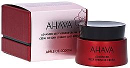 Fragrances, Perfumes, Cosmetics Anti Deep Wrinkle Cream - Ahava Apple Of Sodom Advanced Deep Wrinkle Cream