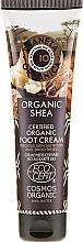 Fragrances, Perfumes, Cosmetics Nourishing Foot Cream - Planeta Organica Organic Shea Foot Cream