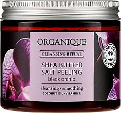 "Fragrances, Perfumes, Cosmetics Salt Peeling ""Black Orchid"" - Organique Shea Butter Salt Peeling Black Orchid"