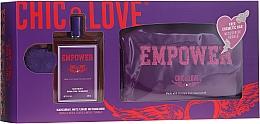 Fragrances, Perfumes, Cosmetics Chic&Love Empower - Set (edt/100ml + bag)