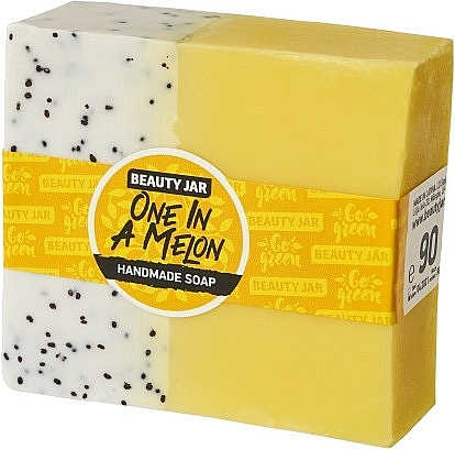 Glycerin Soap with Melon Scent - Beauty Jar One In A Melon Handmade Soap