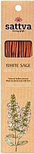 Fragrances, Perfumes, Cosmetics White Sage Incense Sticks - Sattva White Sage