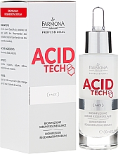 Fragrances, Perfumes, Cosmetics Bio Infusing Regenerating Serum - Farmona Professional Acid Tech Bio Infusion Regenerating Serum