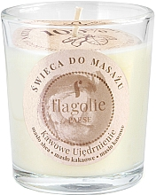 Fragrances, Perfumes, Cosmetics Coffee Firming Massage Candle in Glass - Flagolie Coffee Firming Massage Candle