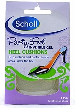 Fragrances, Perfumes, Cosmetics Invisible Gel Heel Cusions - Scholl Party Feet Heel Cushions
