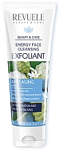 Fragrances, Perfumes, Cosmetics Face Cleansing Exfoliant - Revuele Energy Face Cleansing Exfoliant With Noni Extract & AHA Fruit Complex