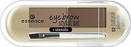 Fragrances, Perfumes, Cosmetics Brow Powder - Essence Eyebrow Stylist