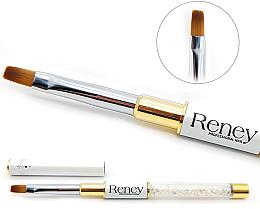 Fragrances, Perfumes, Cosmetics Manicure Flat Brush - Reney Cosmetics Pro Flat AN04