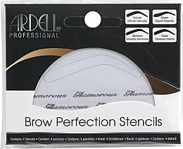 Fragrances, Perfumes, Cosmetics Brow Stencils Set - Ardell Brow Perfection Stencils