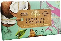 Fragrances, Perfumes, Cosmetics Tropical Coconut Soap - The English Soap Company Anniversary Collection Tropical Coconut Soap
