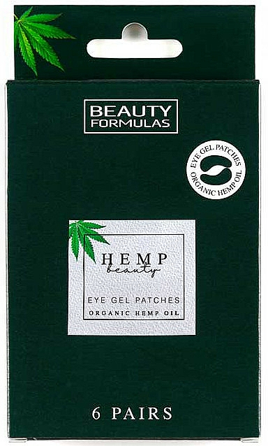 Eye Gel Patches - Beauty Formulas Hemp Beauty Eye Gel Patches