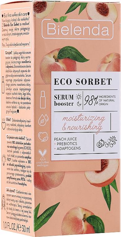 Moisturizing & Nourishing Face Serum - Bielenda Eco Sorbet Moisturizing & Nourishing Serum Booster