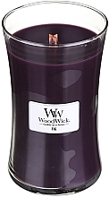 Fragrances, Perfumes, Cosmetics Scented Candle in Glass - WoodWick Hourglass Candle Fig