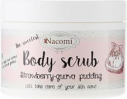 "Fragrances, Perfumes, Cosmetics Washing Peeling Foam ""Strawberry-Guawa Pudding"" - Nacomi Body Scrub Strawberry-Guawa Pudding"