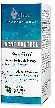 Spot Treatment Cream - Ava Laboratorium Acne Control Professional Spotless Cream