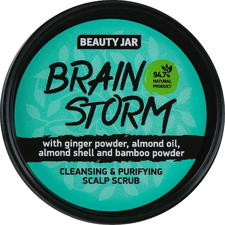 "Cleansing Scalp Scrub ""Brain Storm"" - Beauty Jar Cleansing & Purifying Scalp Scrub"