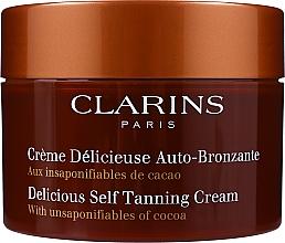 Fragrances, Perfumes, Cosmetics Cream - Clarins Delicious Self Tanning Cream