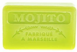 "Fragrances, Perfumes, Cosmetics Marseilles Soap ""Mojito"" - Foufour Savonnette Marseillaise Mojito"