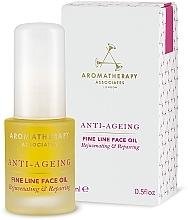 Fragrances, Perfumes, Cosmetics Anti-Aging Anti-Wrinkle Oil - Aromatherapy Associates Anti-Ageing Fine Line Face Oil