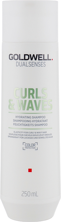Shampoo for Curly and Wavy Hair - Goldwell Dualsenses Curls & Waves Hydrating Shampoo