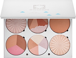 Fragrances, Perfumes, Cosmetics Contouring Palette - Ofra Highlighting and Bronzing Pro Palette On the Glow