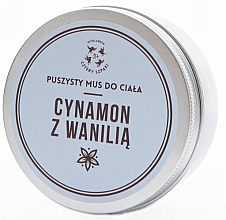 "Fragrances, Perfumes, Cosmetics Body Mousse ""Cinnamon & Vanilla"" - Cztery Szpaki"