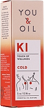 Fragrances, Perfumes, Cosmetics Essential Oil Blend - You & Oil KI-Cold Touch Of Welness Essential Oil