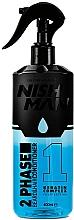 Fragrances, Perfumes, Cosmetics 2 Phase Beard & Hair Conditioner - Nishman Beard & Hair 2 Phase Conditioner
