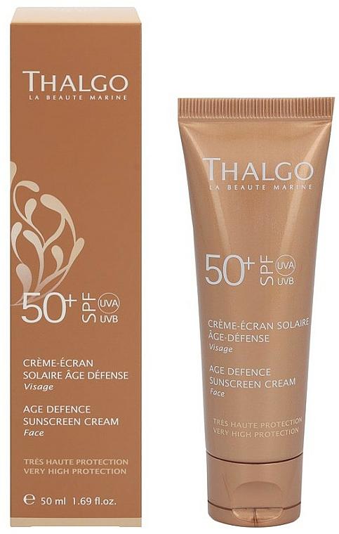 Anti-Aging Facial Sun Cream - Thalgo Age Defence Sunscreen Cream SPF 50 — photo N2