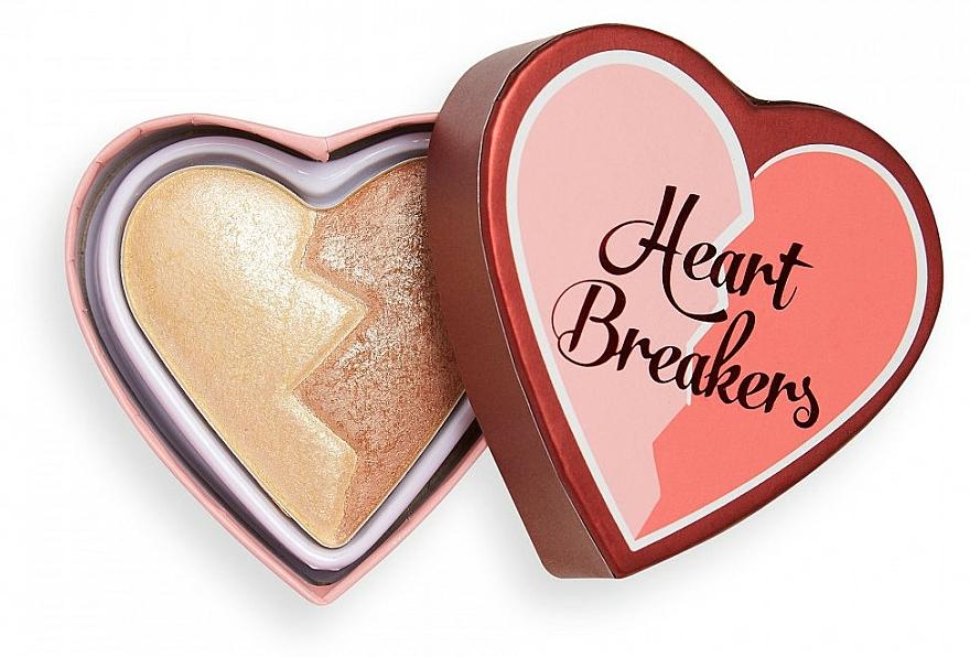Highlighter - I Heart Revolution Heart Breakers Powder Highlighter