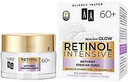 "Fragrances, Perfumes, Cosmetics Active Day Cream ""Reduction of Wrinkles + Restoration"" - AA Retinol Intensive 60+ Cream"
