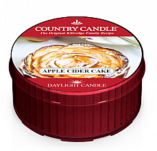 Fragrances, Perfumes, Cosmetics Scented Candle - Kringle Candle Cider Cake